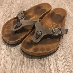Birkenstock Shoes - Birkenstock sandals size 38 brown gray size 8